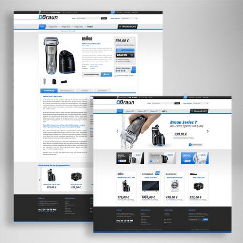 Braun Webshop