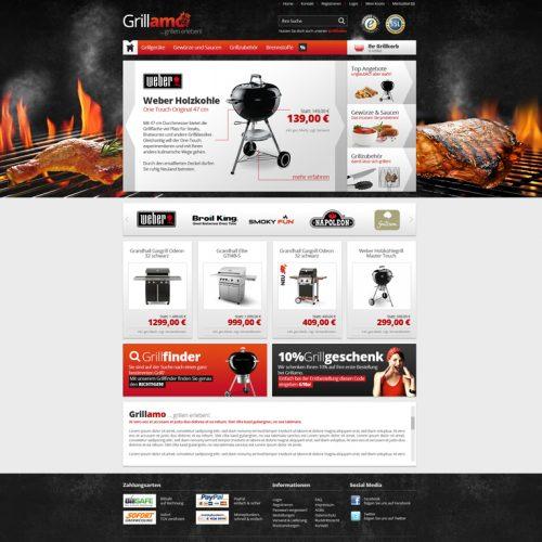 Grillamo Webshop