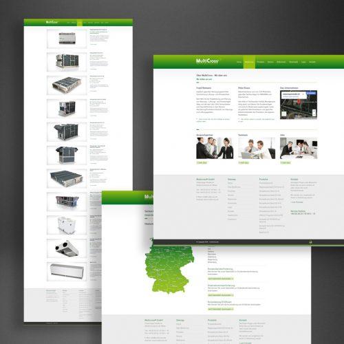 MultiCross Website