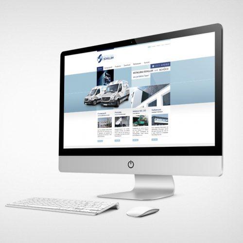 Metallbau Schilloh Website