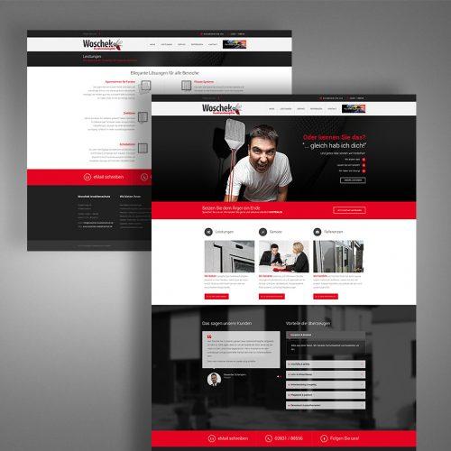Woschek Website