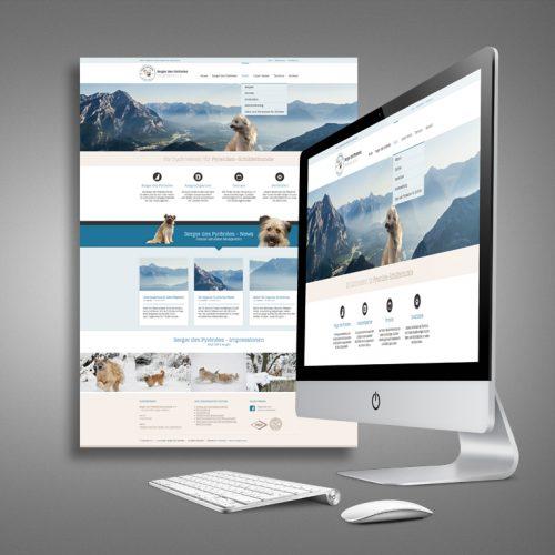 Zuchtverein Berger des Pyrenees Website
