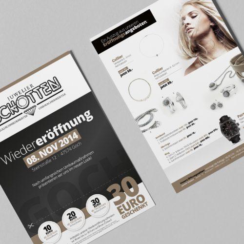 Juwelier Schotten Flyer